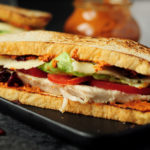 15-Minute Turkey Sandwich with Cranberry and Pesto