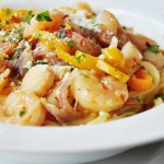 Shrimp and Scallop Scampi