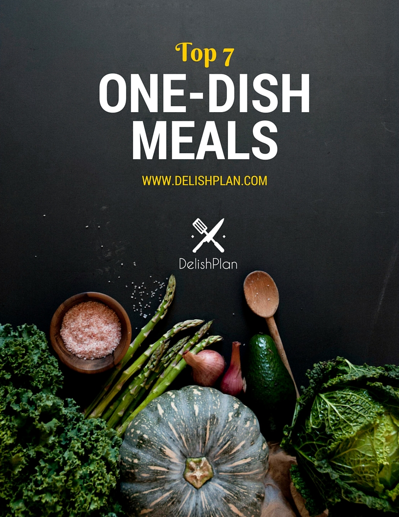 Top 7 One-Dish Meals Cover