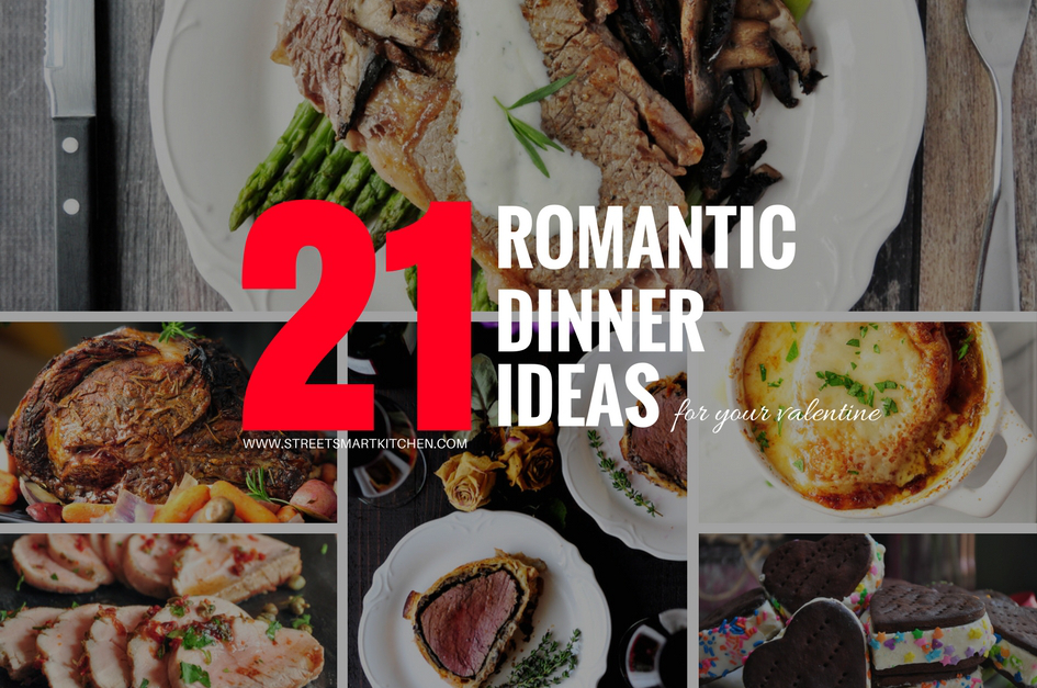 21 Romantic Dinner Ideas