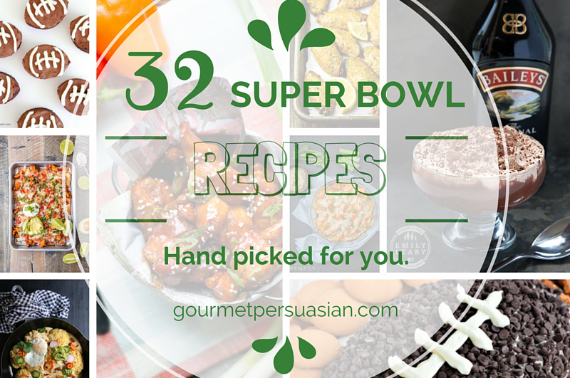 Ready to party? Here are 32 mouth-watering party food recipes hand picked for you to rock your Super Bowl Sunday, tailgate party, or just a simple gathering.