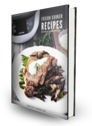 Fusion Cooker Recipes Book Cover