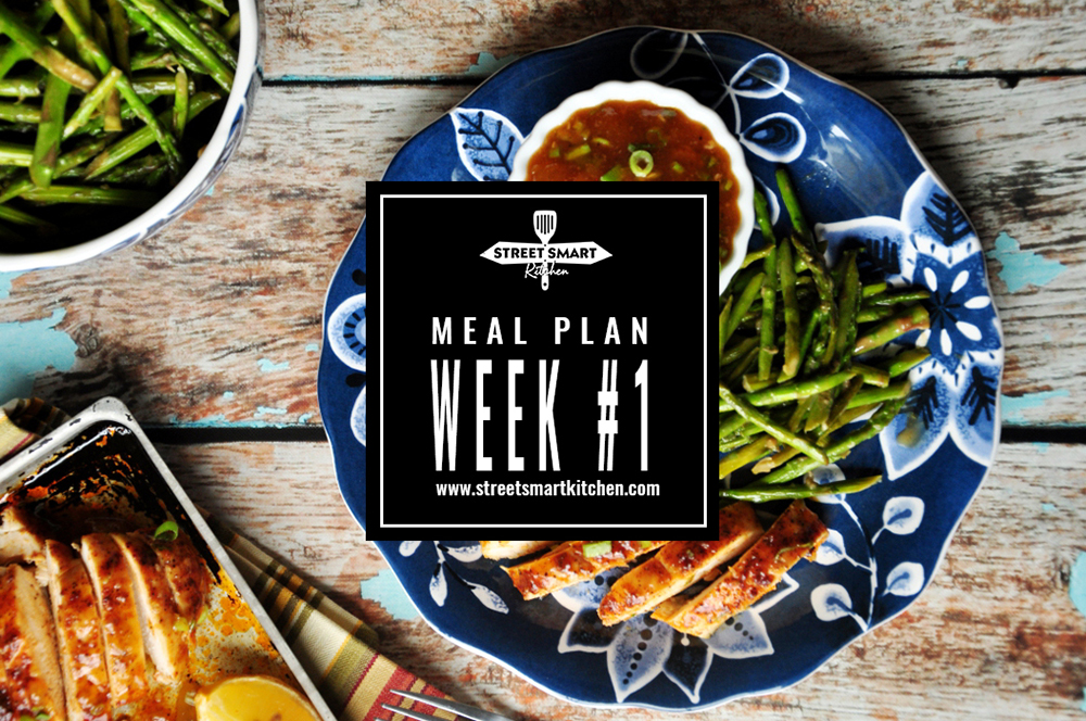 meal plan week #1