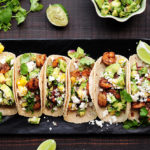 Blackened Shrimp Tacos with Mango Avocado Salsa