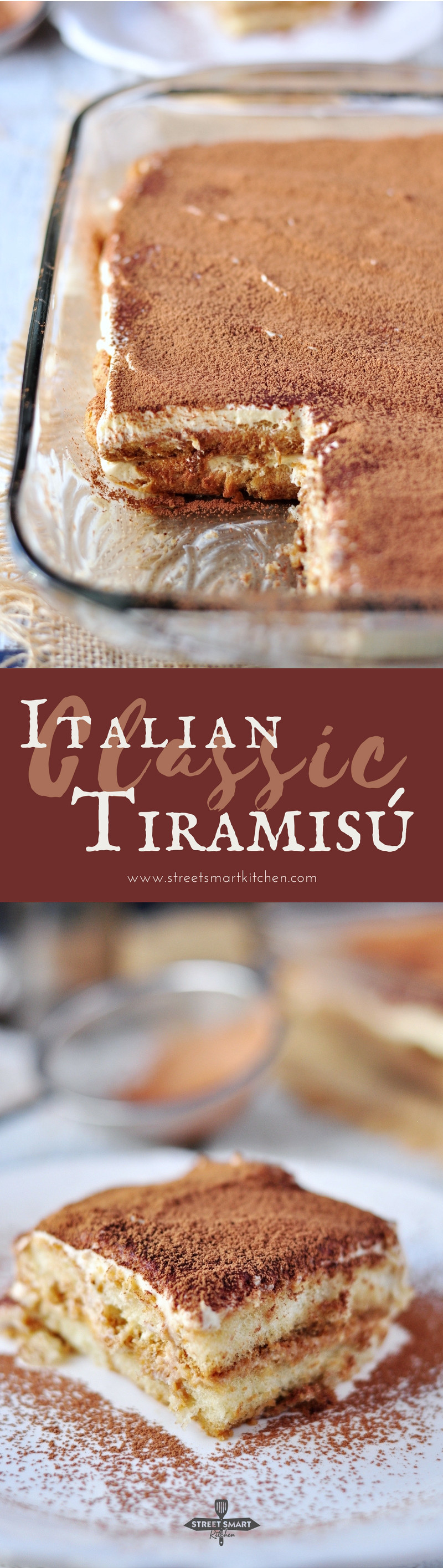 When the original can't really be improved, it's a classic. This Classic Italian Tiramisu is one of these classics. Watch our video to learn how to make it.