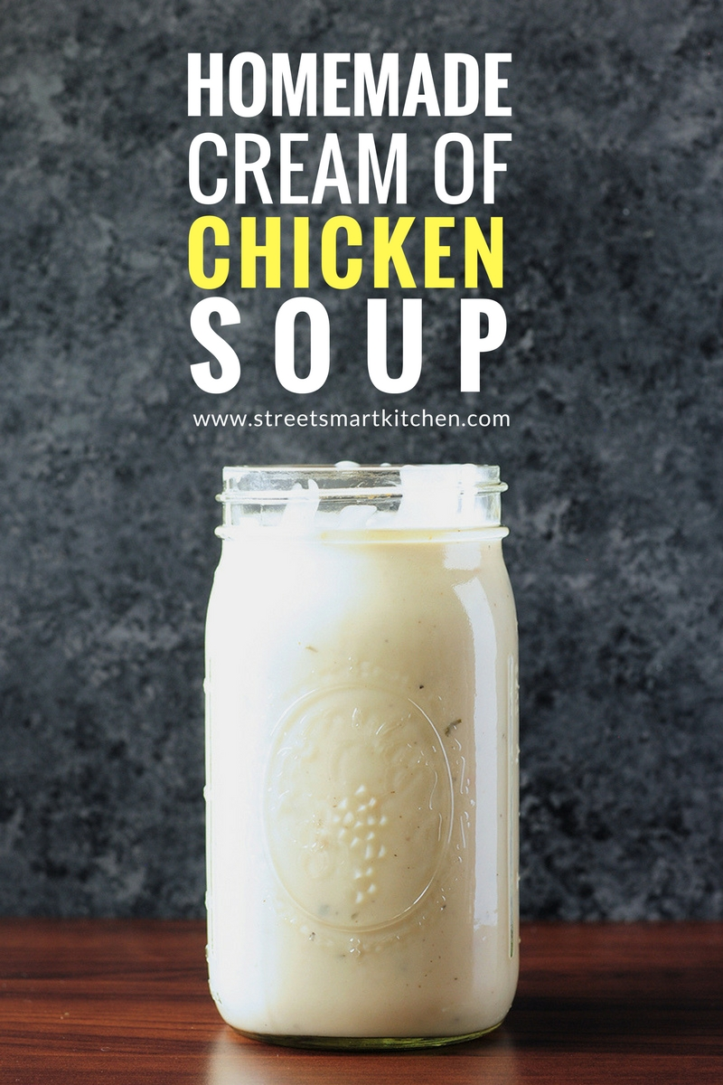 Rather than relying on canned soups, try this quick and convenient homemade cream of chicken soup recipe. Ready in 15 minutes and easy to freeze, it will become your new go-to.