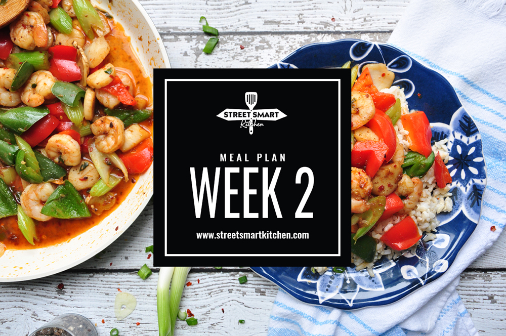 Meal Plan Week #2 – Types of Meal Planning
