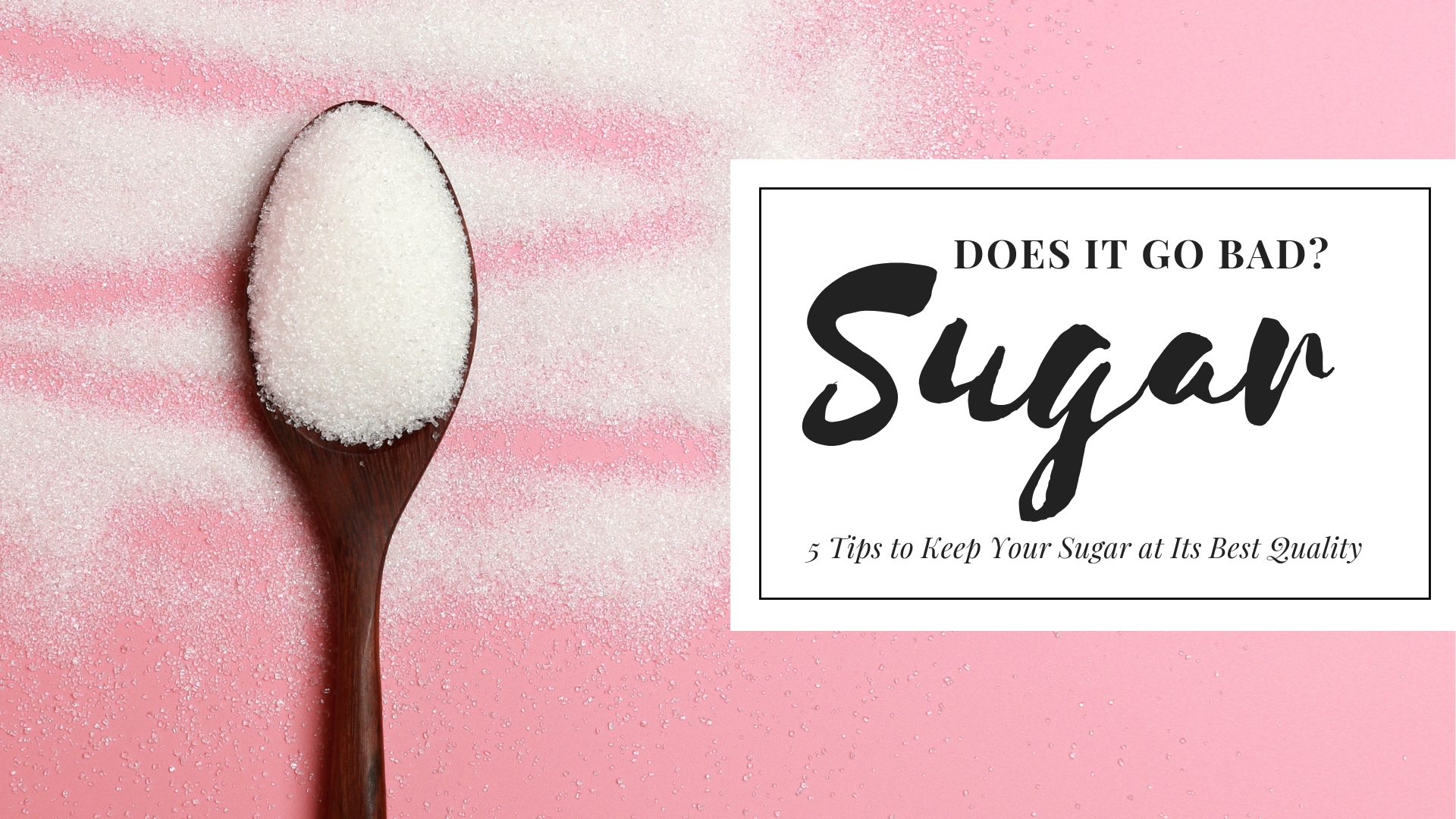 Does Sugar Go Bad? 5 Tips to Keep Your Sugar at Its Best Quality
