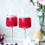 Fresh Pear and Cranberry Mocktail
