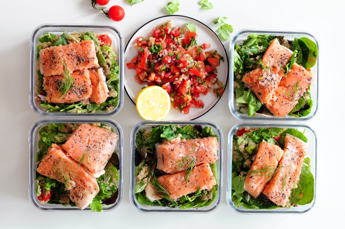 Meal Prep Sunday-Sous Vide Salmon