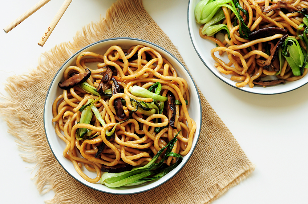 Pan-Fried Shanghai Noodles