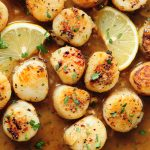 Pan-Seared Scallops with Lemon Butter Sauce