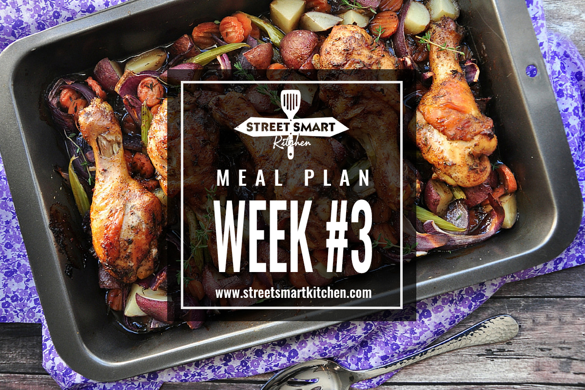 Meal Plan Week #3