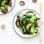 Sautéed Bok Choy with Shiitake Mushrooms (Gluten-Free & Vegan)
