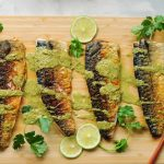 Sous Vide Mackerel Recipe with Spicy Cilantro Lime Dressing