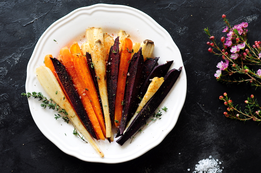 Spiced Honey-Butter Sous Vide Carrots