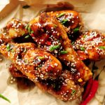 Chinese Sticky and Crispy Sous Vide Chicken Drumsticks