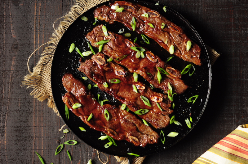Stovetop 3-Ingredient Asian Ribs