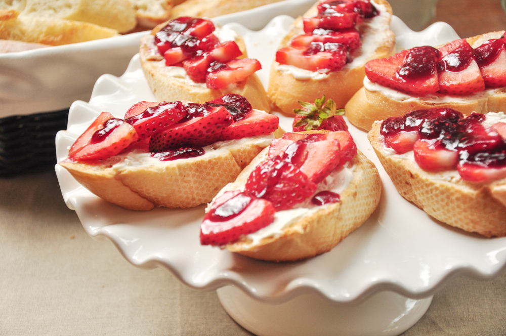 Double Strawberry Toast