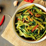 Thai Stir-Fried Water Spinach Recipe (Morning Glory)