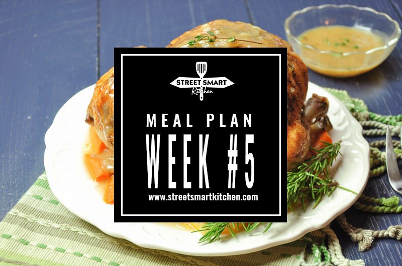 meal plan week #5